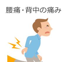 腰痛・背中の痛み